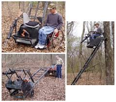 handicap electric tree stand on sale with 120 low price