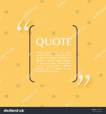 quote blank template design elements circle stock vector 383486170