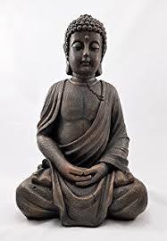 spiritual sitting resin garden buddha ornament statue figurine
