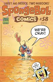 spongebob comics no 58 encyclopedia spongebobia fandom