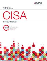cisa review manual 26th edition amazon co uk isaca