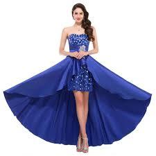 party dresses short front long back plus size prom dresses