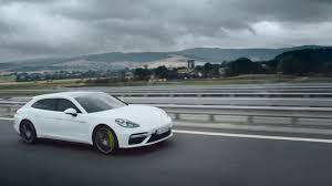 Porsche Panamera Top Speed - porsche panamera turbo s e hybrid sport turismo is a 680 hp wagon