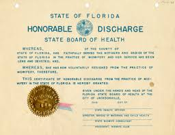 honorable discharge certificate florida memory pestilence potions and persistence early florida