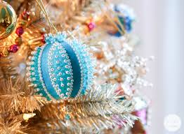 addicted vintage beaded christmas ornaments inspired by charm