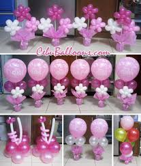 baptism table centerpieces balloon centerpieces for tables cebu balloons and party supplies
