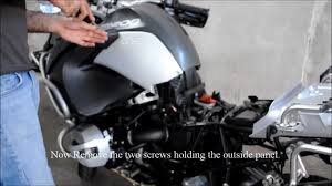 installing a power socket on 2011 bmw r1200gs adventure youtube