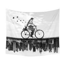 Cycling Home Decor 150 130cm Tapestry Home Decorative Cycling Pattern