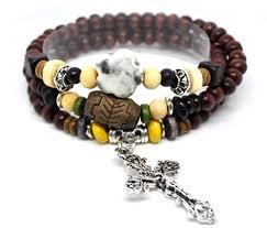 religious bracelet wood bead bracelets the witness