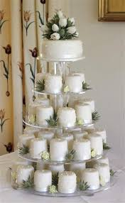 individual wedding cakes individual mini wedding cakes