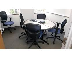 Teknion Conference Table Facility Services Teknion Conference Tables And Mesh Back
