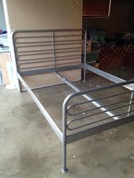 White Metal Bed Frame Queen Metal Queen Bed Frame U2013 Tappy Co