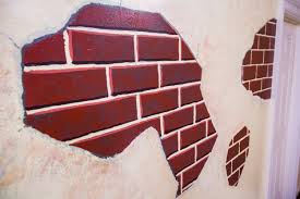 How To Paint A Faux Brick Wall - paige u0027s diy faux brick wall home u0026 family hallmark channel