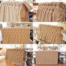 Slipcovers For Headboards by Slipcovers Ideas Great Way To Change A Headboard With Little