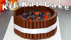 kit kat candy bars cake decoration video happyfoods youtube