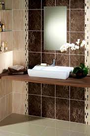 Yellow Tile Bathroom Ideas Bathroom Heavenly Warm And Serene Wooden Bathroom Designs Brown