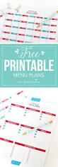 printable meal planner template best 25 menu planning printable ideas on pinterest weekly free printable menu plans