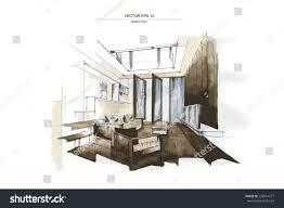 interior sketch extraordinary best 25 interior sketch ideas only