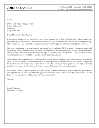 Sample Cover Letter It Professional Phlebotomist Planner Cover Letter Sample Random Pinterest