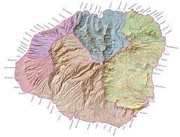 Map Of Big Island Hawaii Islandbreath Hawaiian Ahupuaa