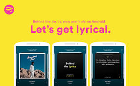 behind lyrics with spotify and genius now on android news