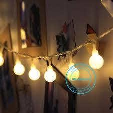 round bulb fairy lights electric 10m 100 led globe round ball string fairy lights festoon