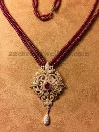 beaded pendant necklace designs images Ruby beads set by kothari 39 s jewelry beads jewel and indian jewelry jpg