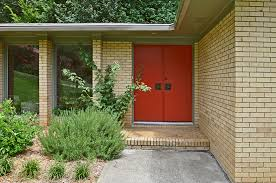 red front door exterior drop dead gorgeous front porch and exterior by atomic