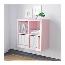 lo scaffale rosequartz lo scaffale rosa pallido kallax si pu祺 appendere
