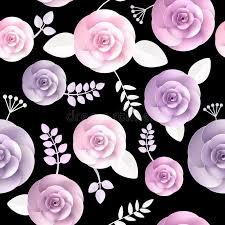 flowers seamless pattern element vector background vector flowers seamless pattern stock vector illustration of
