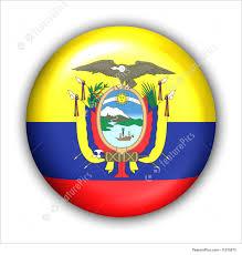 South America Flags Illustration Of Ecuador Flag