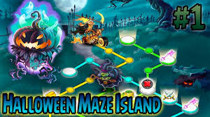 monster legends laberinto de halloween halloween maze island
