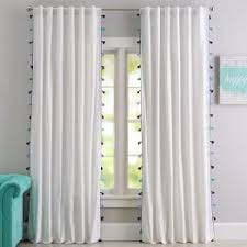 Tassels For Drapes All Teen Curtains U0026 Window Coverings Pbteen