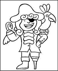 captain pirate coloring pages kids womanmate