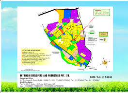 Rohini Metro Map by Antriksh Golf View Sector 78 Noida