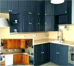 renover sa cuisine en chene repeindre une cuisine en chene meuble repeint en blanc 1 repeindre