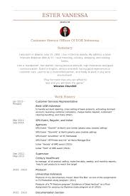 Bank Customer Service Representative Resume Sample by Customer Services Representative Resume Samples Visualcv Resume
