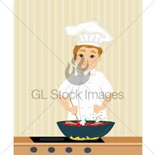Cooks In The Kitchen by Cooks In The Kitchen Gl Stock Images
