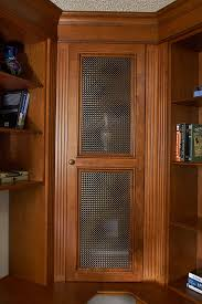 Cabinet Door Mesh Inserts 55 Types Stupendous Stained Wood Home Office Wire Mesh Detail