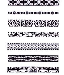 hawaiian tribal armband tattoos cool tattoos bonbaden