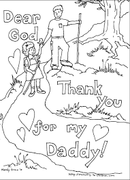 fathers day coloring page free download