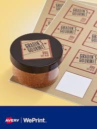 custom labels cards avery weprint