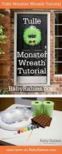 best 25 monster wreath ideas on pinterest halloween monster