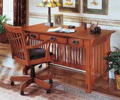 Mission Style Dining Room Set by Home Office With Mission Style Furniture Including Desk With Three