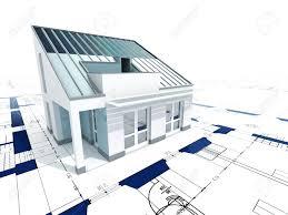 modern house blueprint home design