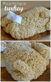 testers easy rice krispie treat turkey thanksgiving