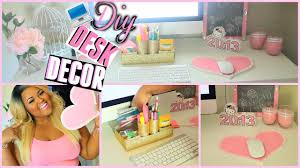 Desktop Decorations Diy Desk Decorations Organization Make Your Desk Super Cute