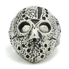Masker Nr nieuwe mysterieuze masker nr 13 ring 316l rvs top kwaliteit mode