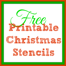 6 best images of christmas printable craft templates printable