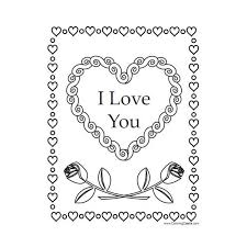 coloring pages roses hearts hearts roses hearts